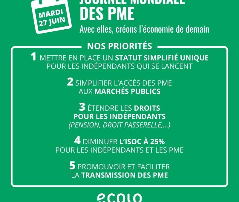 Journée des PME : nos propositions