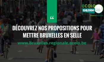 [Vélo] Nos propositions pour mettre Bruxelles en Selle!
