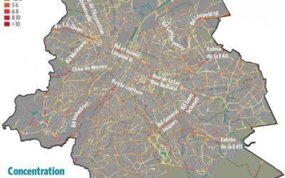Pollution de l'air : Bruxelles a besoin de mesures fortes, pas que de cartes